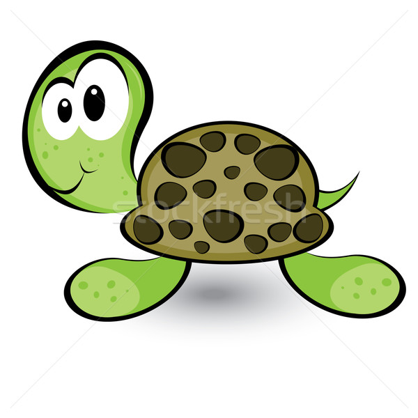 Stock photo: Cartoon gay turtle