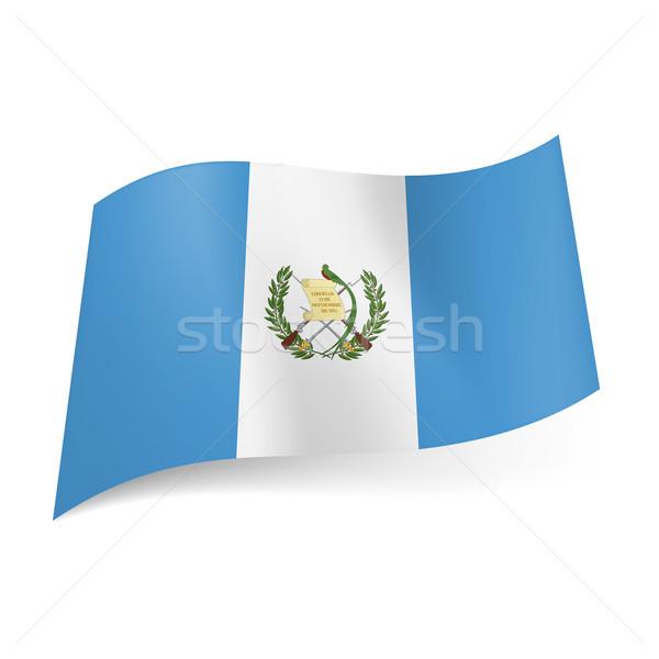 State flag of Guatemala. Stock photo © dvarg