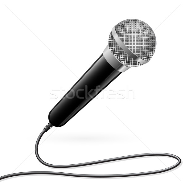 Microphone for Karaoke Stock photo © dvarg