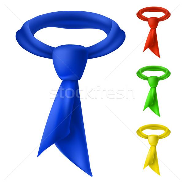 Four colorful tie. Stock photo © dvarg