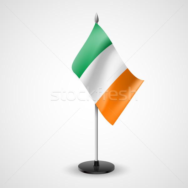 Table flag of Ireland Stock photo © dvarg