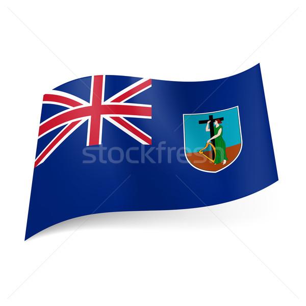 Stock photo: Flag of Montserrat