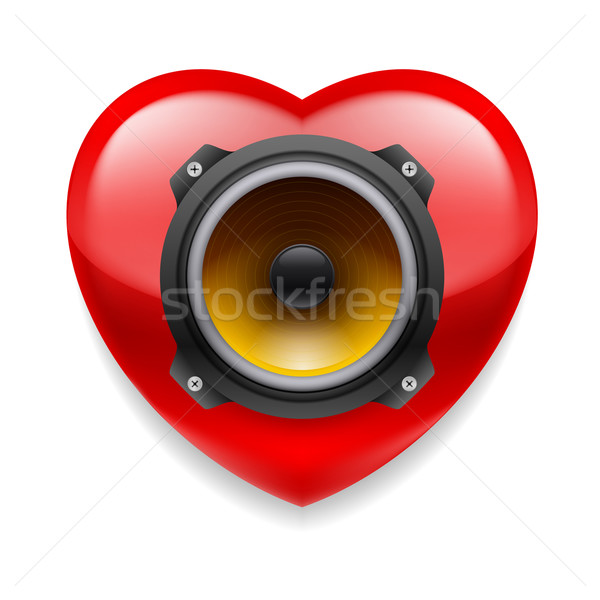 Favorite music icon Stock photo © dvarg