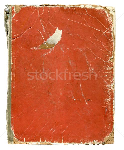Velho livro ilustração branco projeto quadro arte Foto stock © dvarg