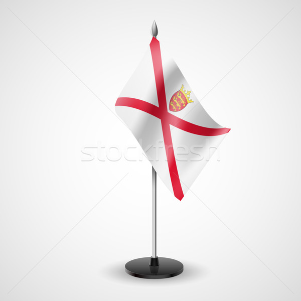 Table flag of Jersey Stock photo © dvarg