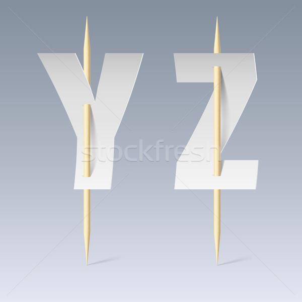 Papieru chrzcielnica biały cięcia szary tekstury Zdjęcia stock © dvarg
