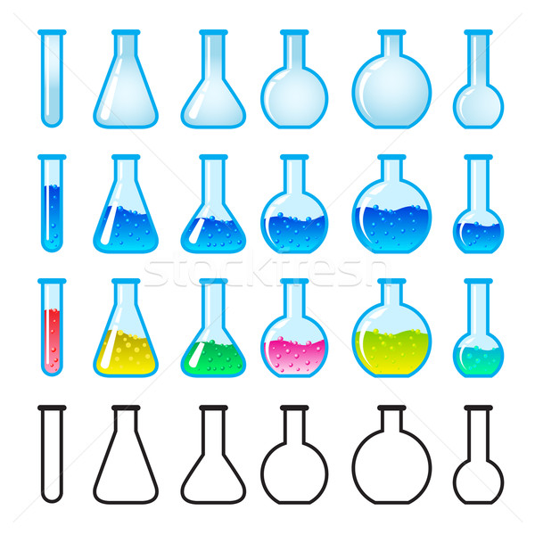 Chemical Science Equipment Stock photo © dvarg
