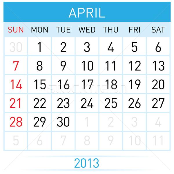 Stock photo: Calendar Month
