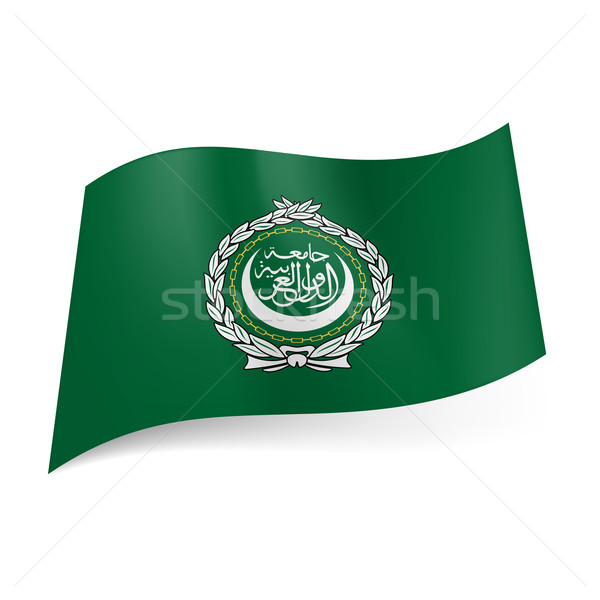 Flag of Arab League Stock photo © dvarg