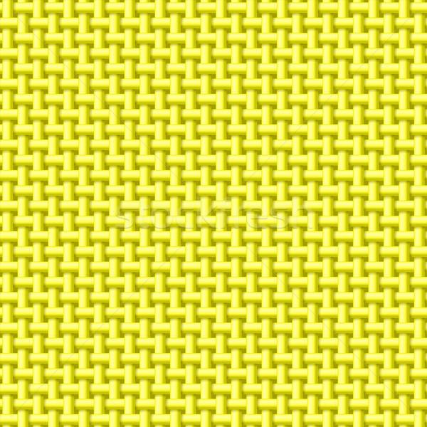 Yellow cloth texture Stock photo © dvarg