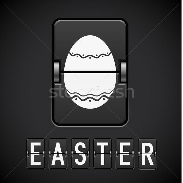 Scoreboard Easter Stock photo © dvarg