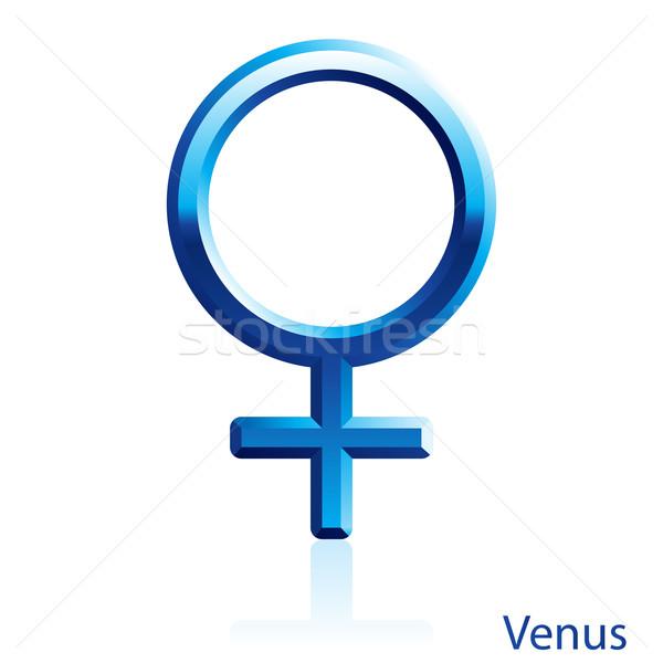 Venus sign. Stock photo © dvarg
