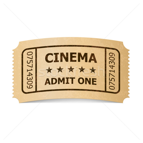 Cinema ticket. Stock photo © dvarg