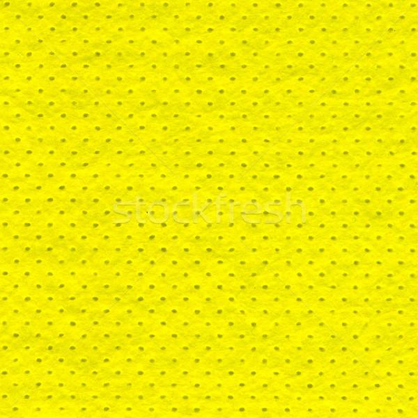Yellow microfiber Stock photo © dvarg