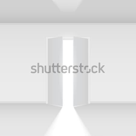 Open door Stock photo © dvarg
