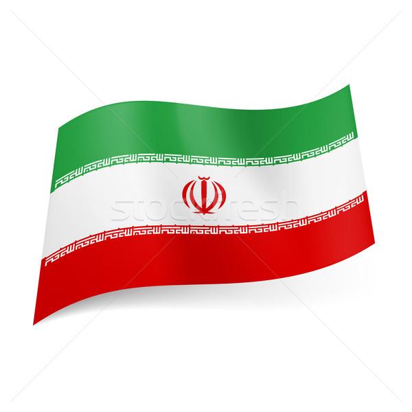 State flag of Iran Stock photo © dvarg