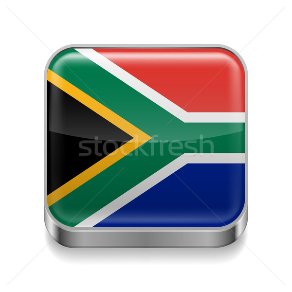 Metal  icon of  South Africa  Stock photo © dvarg