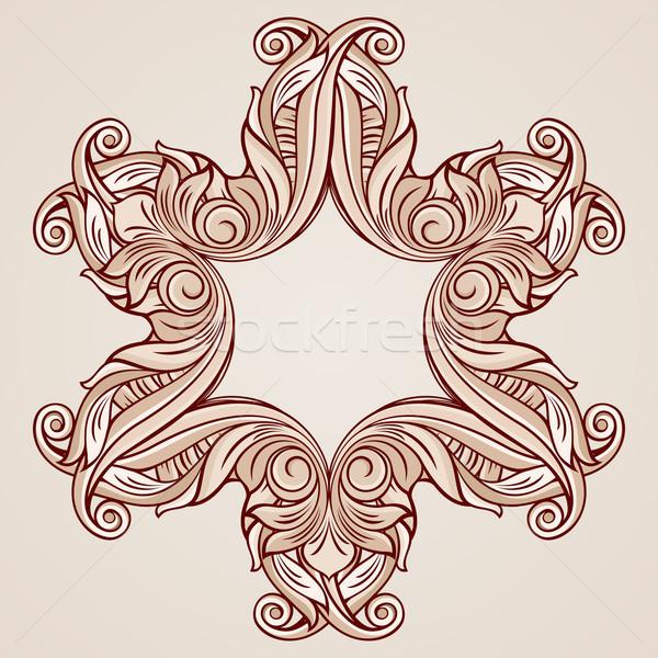 バラ ピンク フローラル パターン 要素 ストックフォト © dvarg