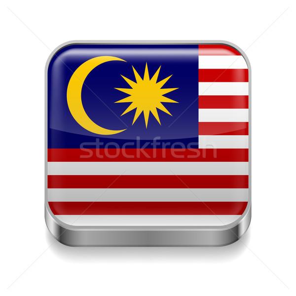 Metal  icon of Malaysia Stock photo © dvarg