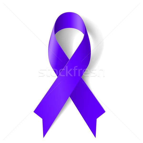Purple ribbon Stock photo © dvarg