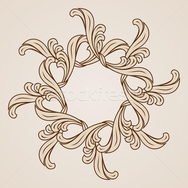 Floral pattern Stock photo © dvarg