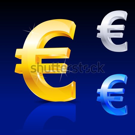 Abstract euro sign Stock photo © dvarg