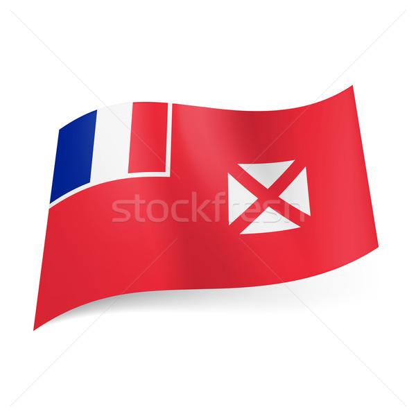 Flag of Wallis and Futuna.  Stock photo © dvarg