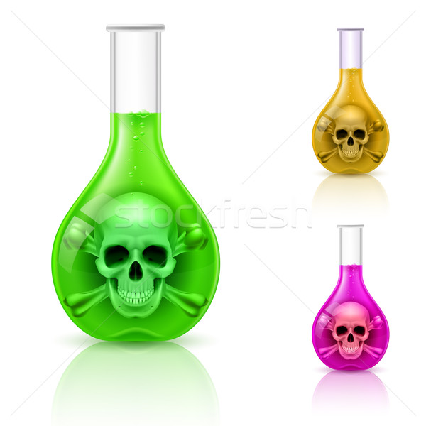 Vials with poison. Stock photo © dvarg