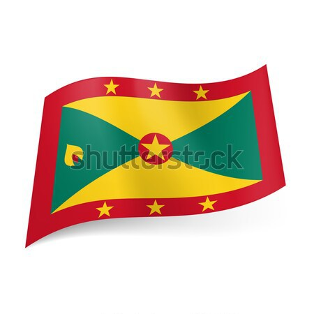 State flag of Grenada Stock photo © dvarg