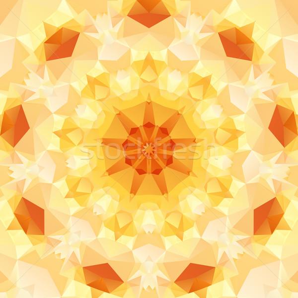 Ontwerp abstract patroon regelmatig meetkundig Stockfoto © dvarg