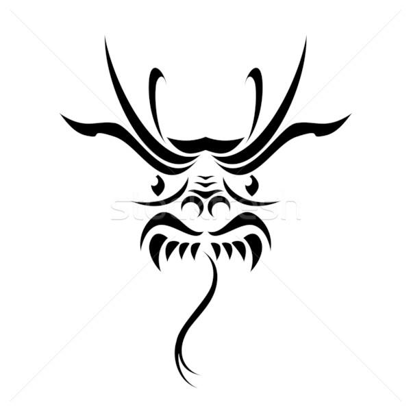 Dragon tattoo Stock photo © dvarg