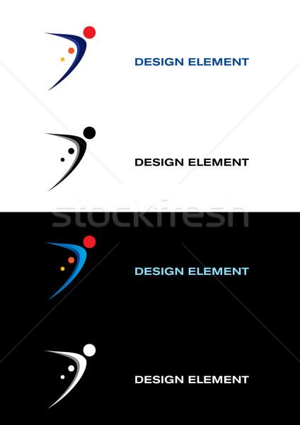 Sport Logo Design Elements Stock photo © dvarg