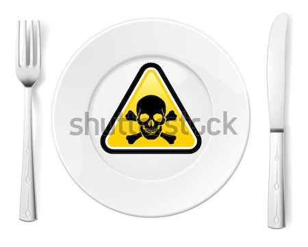 Dangerous food Stock photo © dvarg
