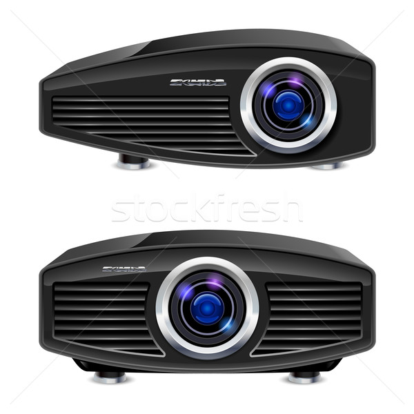 Realistic multimedia projector Stock photo © dvarg