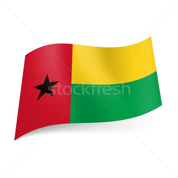 State flag of Guinea Stock photo © dvarg
