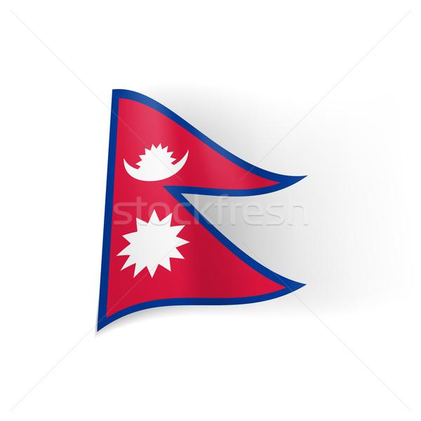 State flag of Nepal Stock photo © dvarg