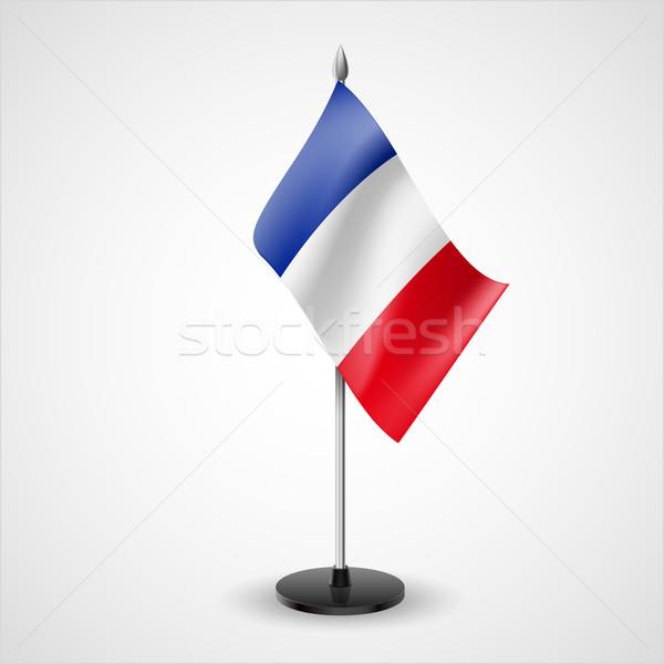 Table flag of France Stock photo © dvarg