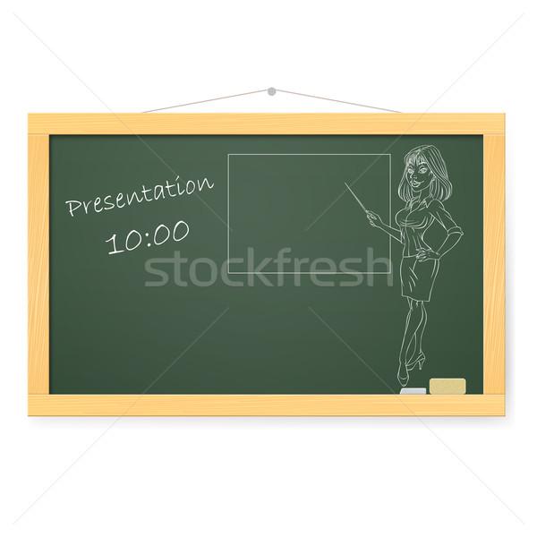 Blackboard Stock photo © dvarg