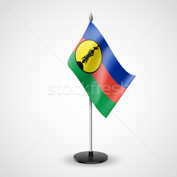 Table flag of New Caledonia Stock photo © dvarg