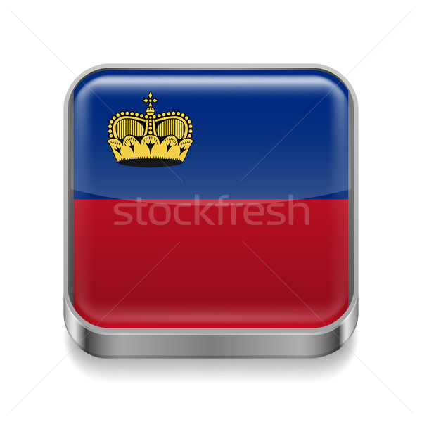 Metal  icon of Liechtenstein Stock photo © dvarg