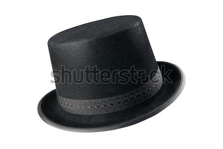 A stylish black hat Stock photo © dvarg
