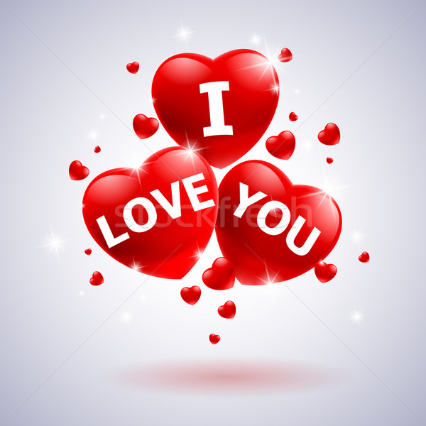 I love you with heart  Stock photo © dvarg