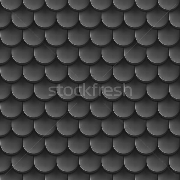 Roof tile background. Stock photo © dvarg