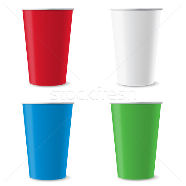 Disposable cups Stock photo © dvarg