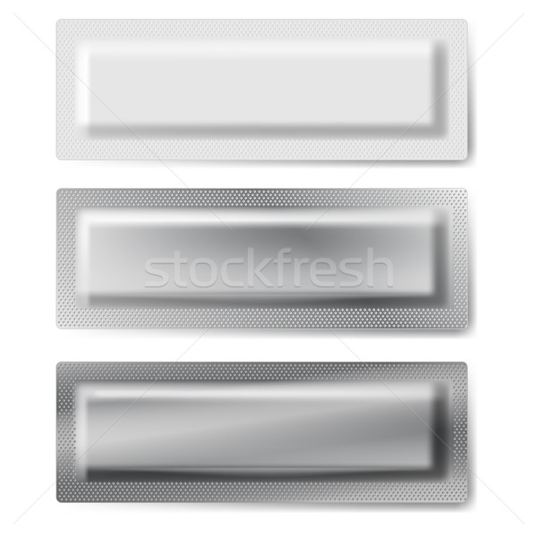 Three packages. Stock photo © dvarg