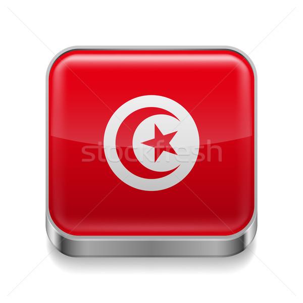 Metal  icon of Tunisia Stock photo © dvarg