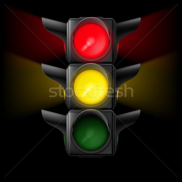 Traffic light Stock photo © dvarg