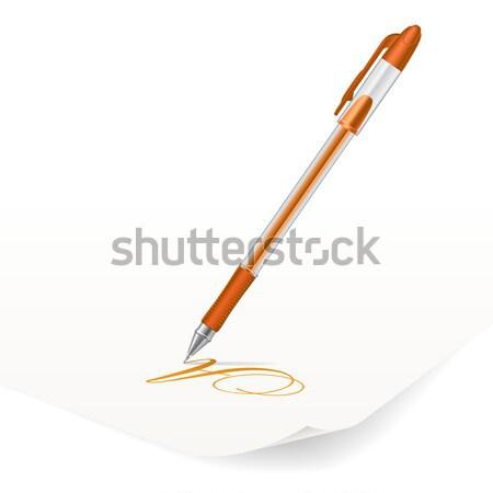 Ballpoint pen Stock photo © dvarg