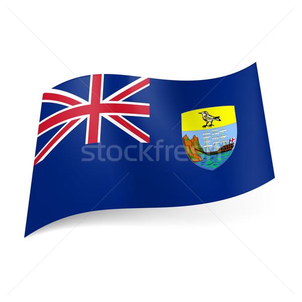 Flag of Saint Helena, Ascension and Tristan da Cunha Stock photo © dvarg
