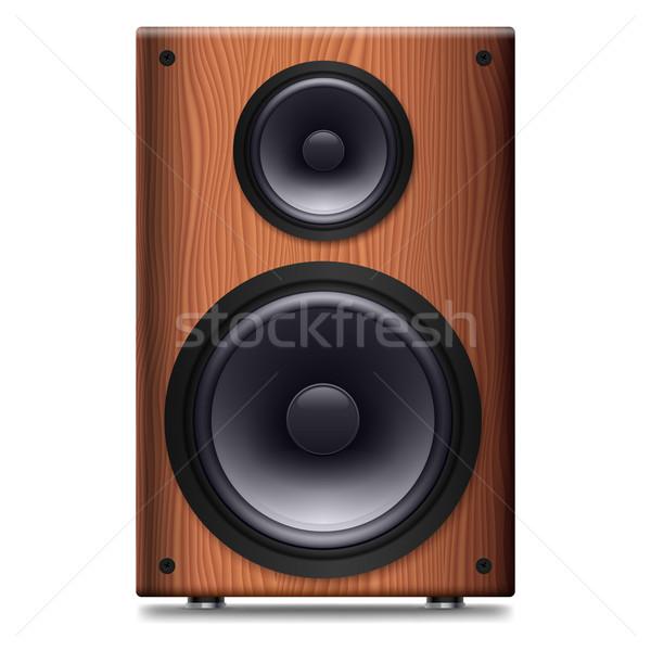 Stereo speaker no coprire bianco dance Foto d'archivio © dvarg